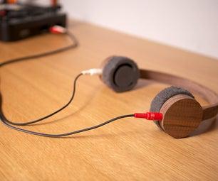 Wood Headphones Using 123D Catch + SolidWorks + ShopBot.