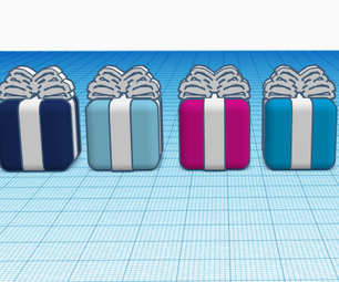 Present's on Tinkercad