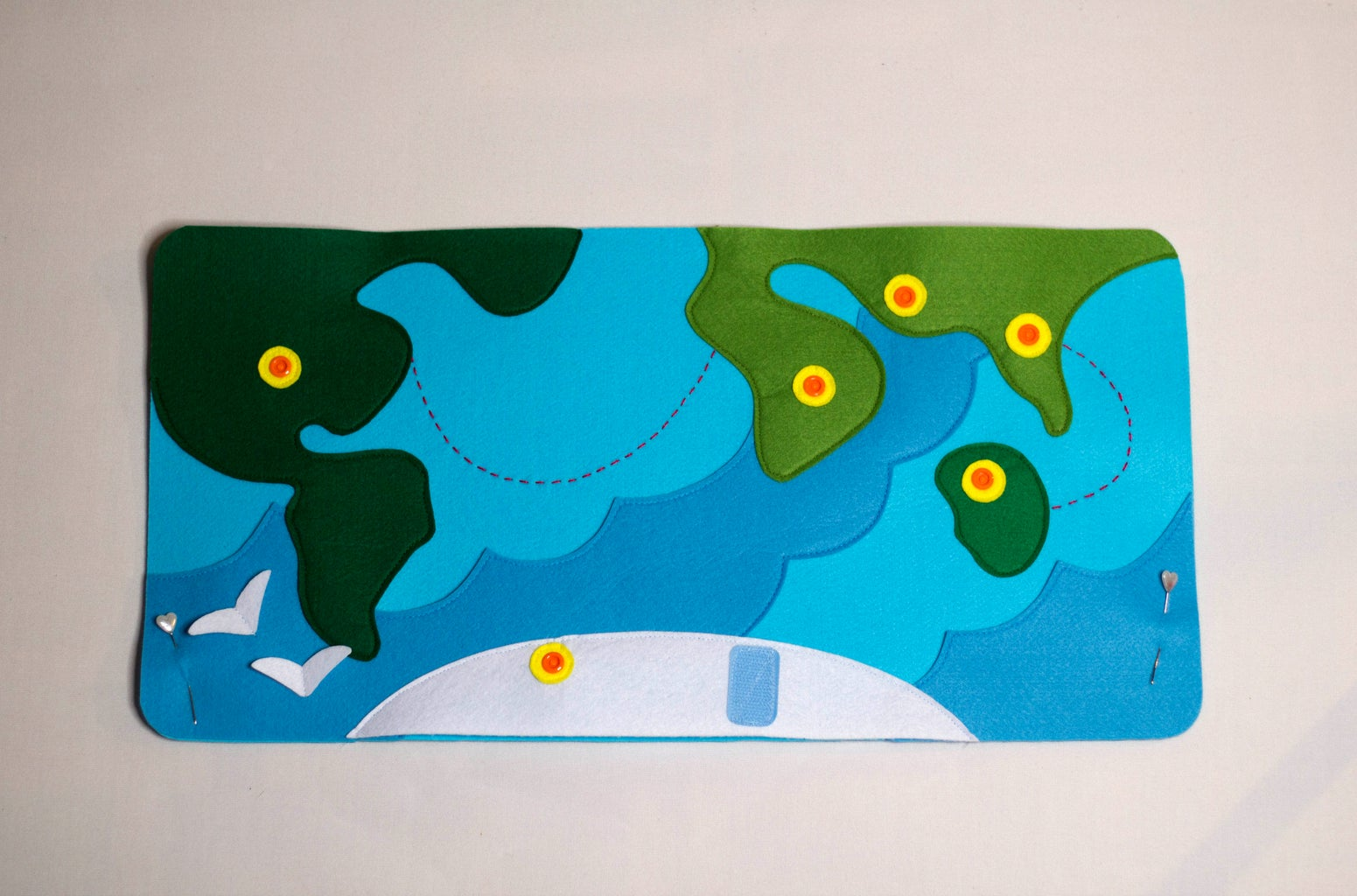 Sew Continents Into the Base
