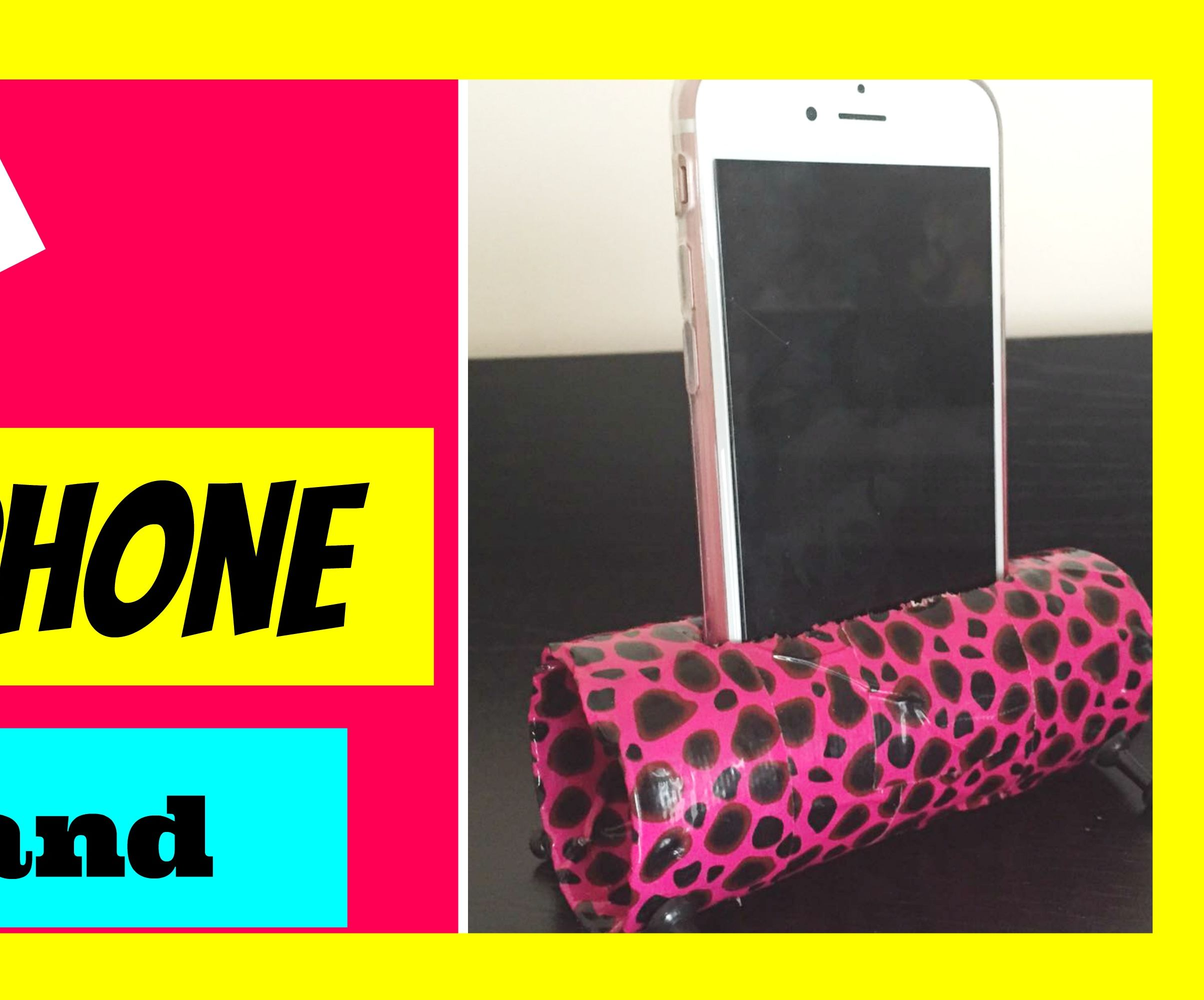 DIY Cell Phone Stand | Room Decor Idea