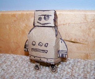 Completely Recycled Instructables Robot!
