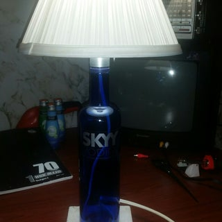 Liquor Lamp