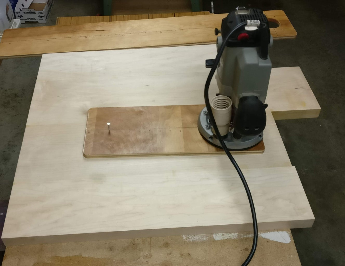 Making the Turntable