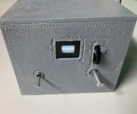 Mini Battery Powered CRT Oscilloscope