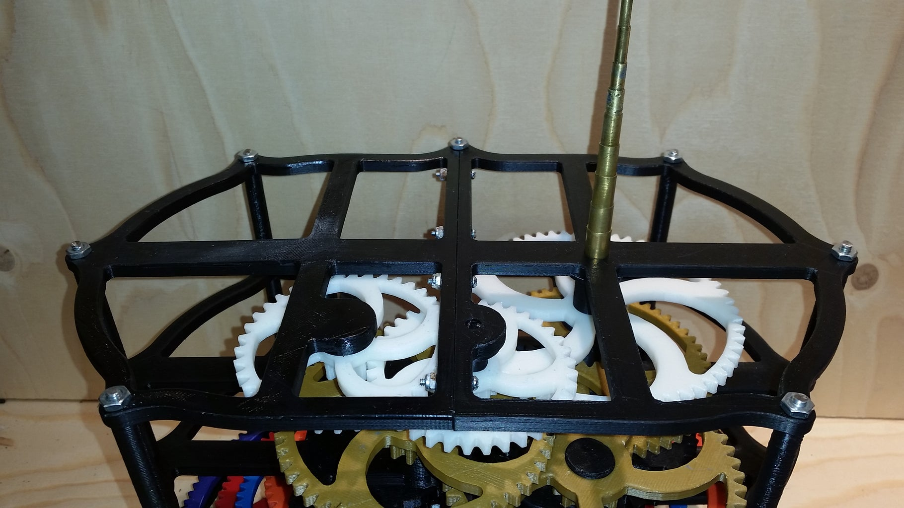 Stacking Gears and Frames- Frame 4 and Neptune Gears