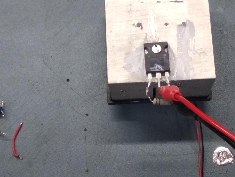 Power MOSFET As Power Resistor