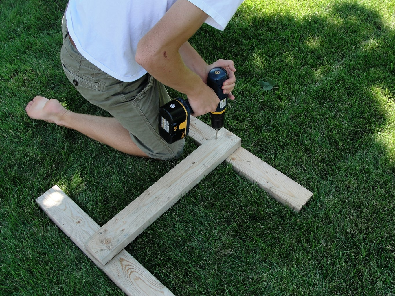 Build and Attach Legs and Hinges