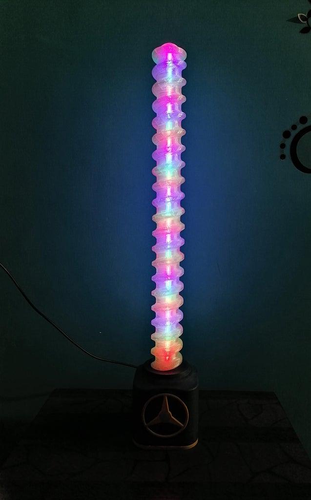 RGB Music Reactive Lamp