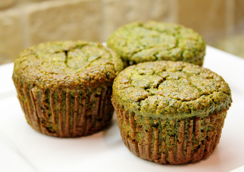Banana Kale Muffins (gluten free)