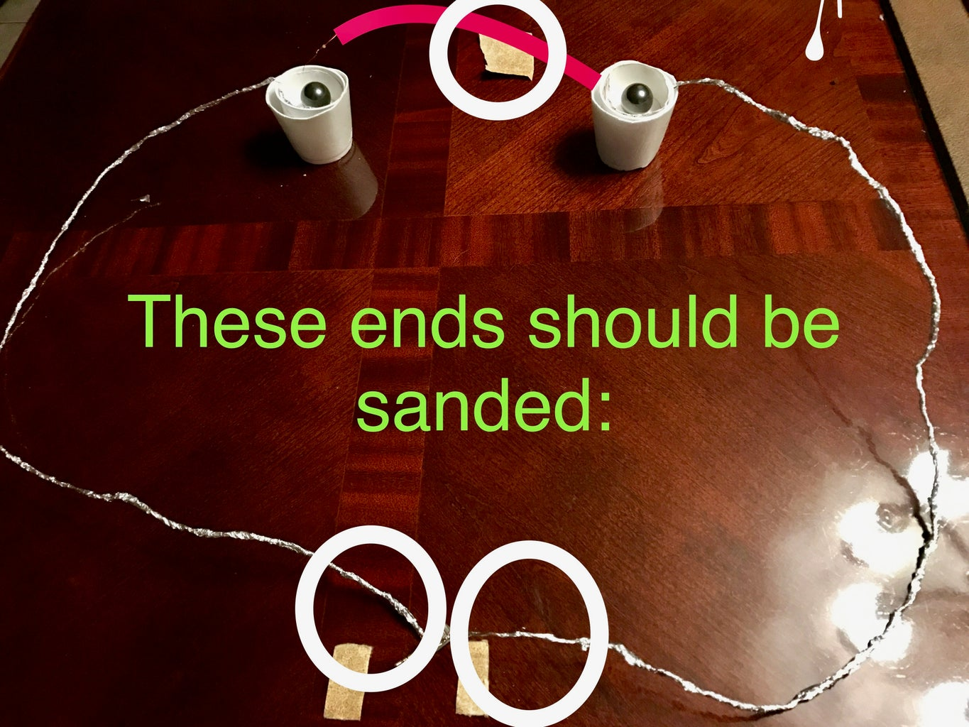 Assembly, Sanding, and Coiling