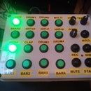 Arduino MIDI Rhythm Section Sequencer