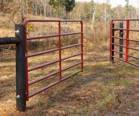 How to Hang a Farm Gate/Fence