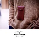 Leather Phone Neck Pouch