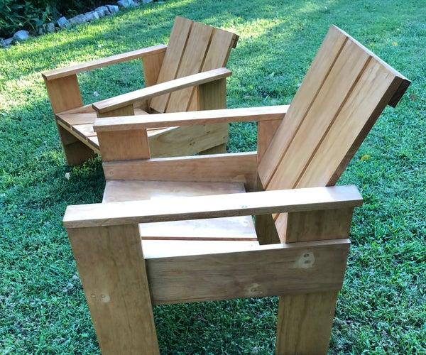 Gerrit Rietveld Crate Chair