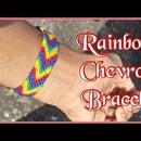 Rainbow Chevron Bracelet