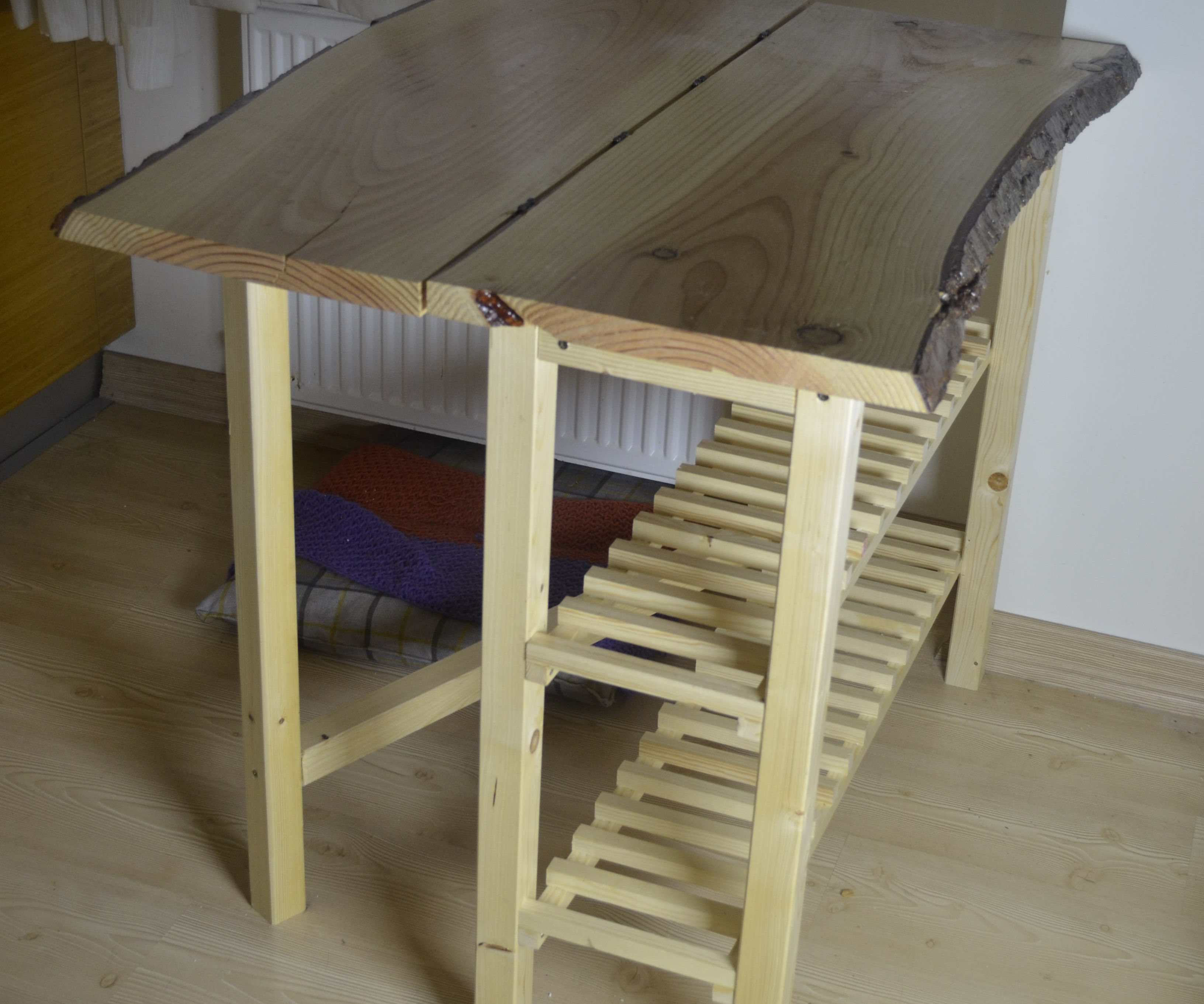 Solid Wood Foldable Table