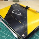 Upcycled Maker Journal Cover