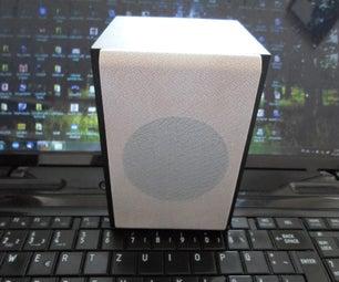 Homemade Loudspeaker Using LM386