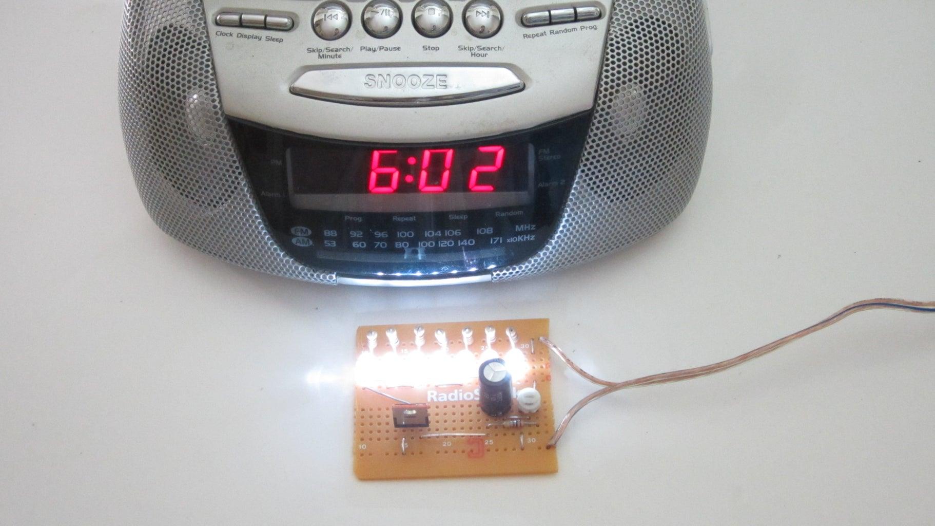 Finished Sunrise Alarm Clock