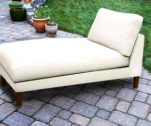 向后建造躺椅(100%回收材料)