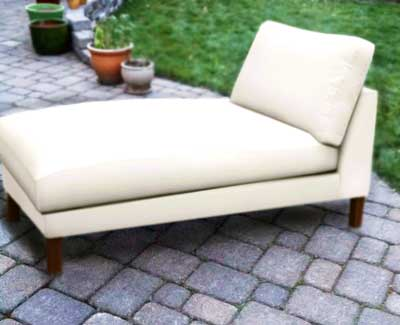 Backward Build Chaise Lounge Chair (100% Rescued Materials)