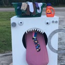 Sock Eating Washer Costume