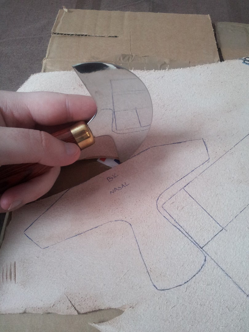 Leather Time! Cutting Your Leather and Temp Assembly