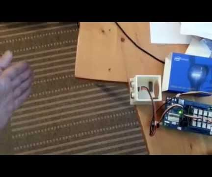 Intel IoT Edison Sonar Theremin