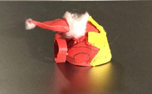 How to Make an Iron Man Helmet Ornament