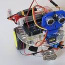 Obstacle Avoiding Robot With Servo Motor Arduino