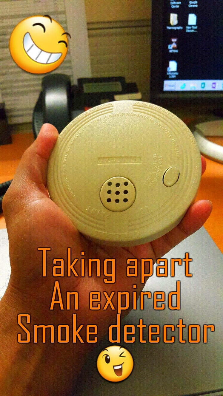 Inspection of an Expired Smoke Detector.
