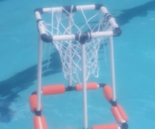 DIY Floating Basketball Hoop