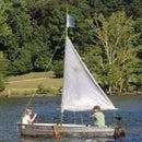 Got wind? Got an Hour? Make a Sailboat!