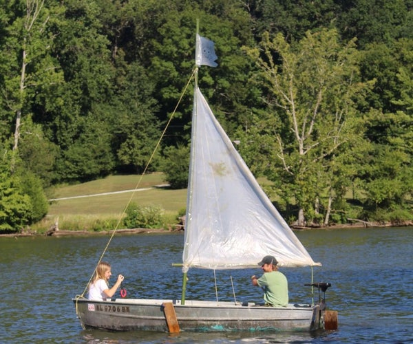 Got Wind? Got an Hour? Make a Sailboat!
