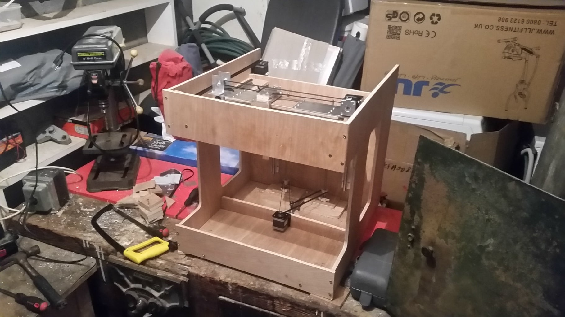 3D Printer Home Brew - Kaliope MK1