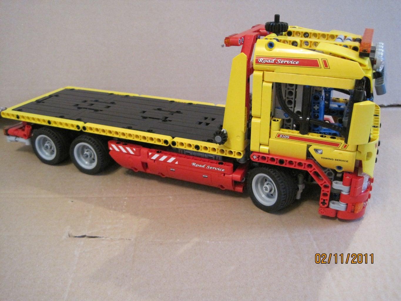 Lego Flatbed Truck.