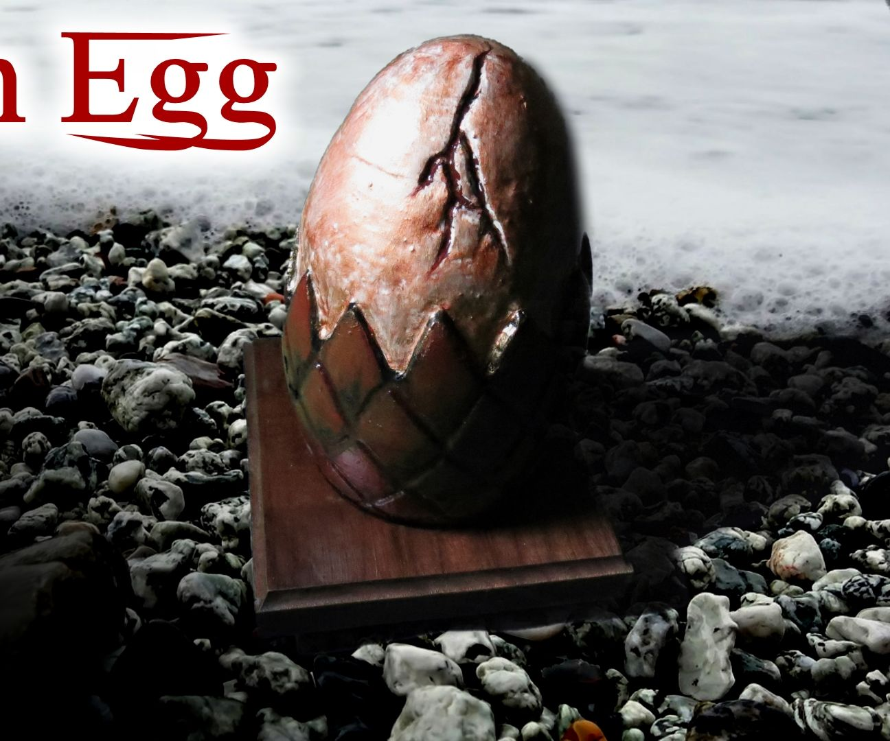 How to Make a Dragon Egg - MDF Layers