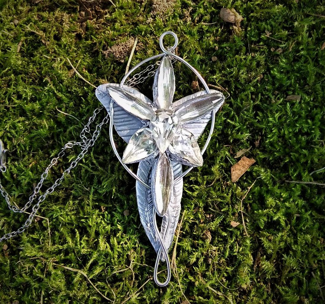 Evenstar Arwen Necklace - LoTR