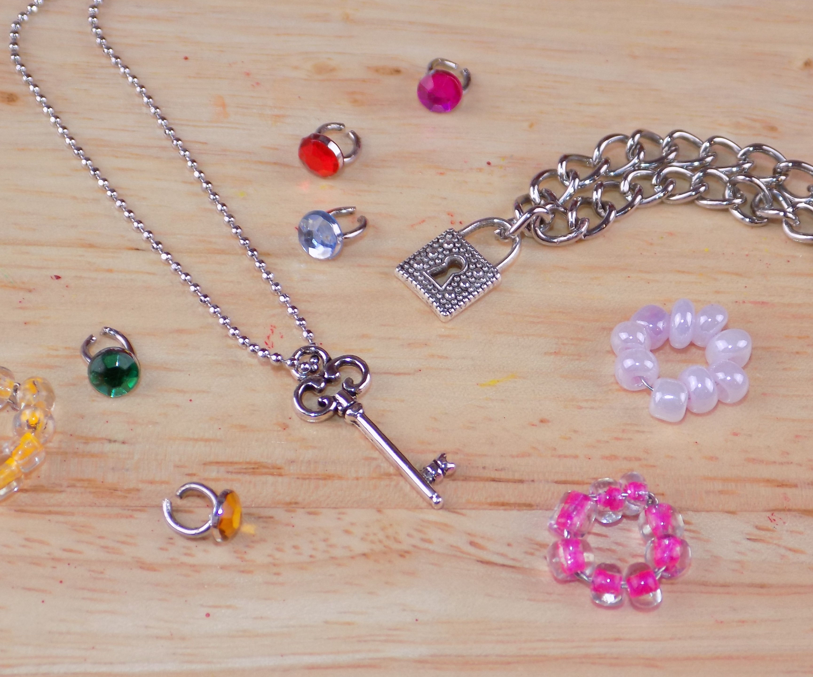 diy miniature jewelry