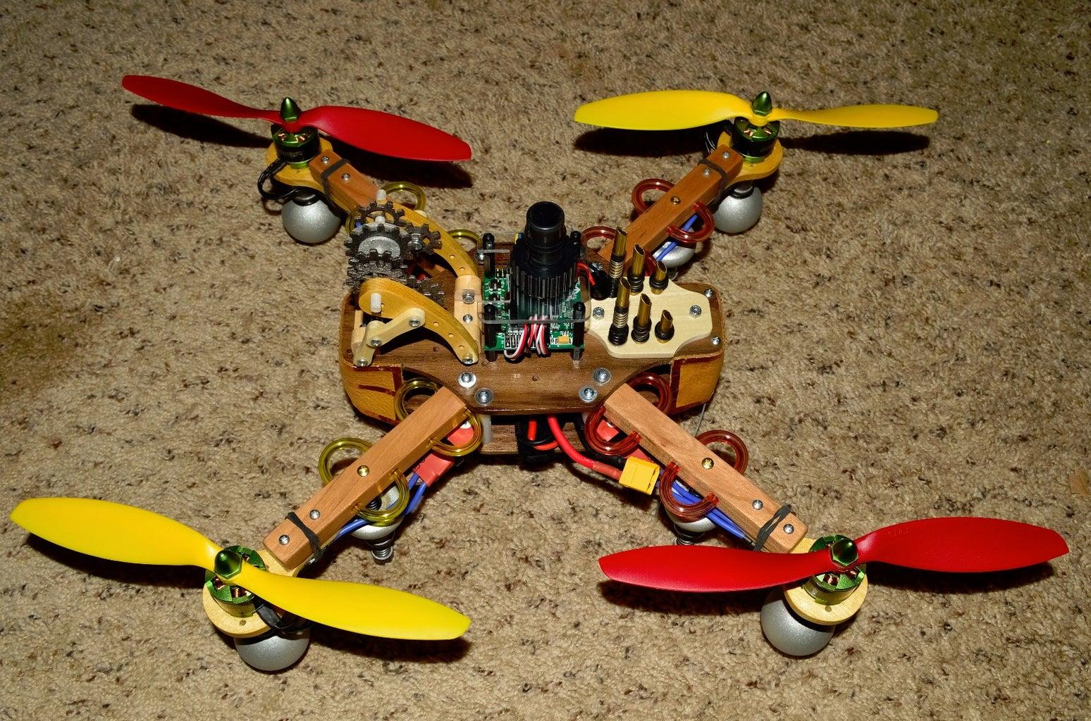 Steam Punk Flying Drone