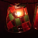 Easy Stained Glass Christmas Holiday Lights