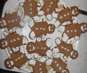 Butterscotch-Ginger Bread Cookies