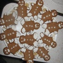 Butterscotch-Ginger Bread Cookies