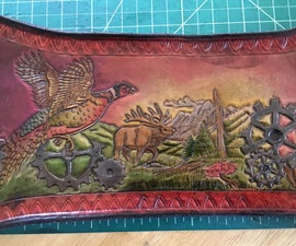 Leather Painting
