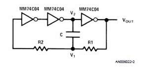 MM74C04 or CD4069 CAD Calculator Spreadsheet
