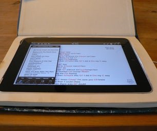 Recycle a Book Into an IPad Stealth Case