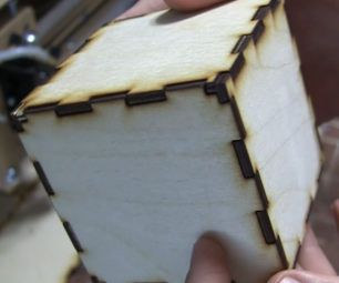 CAD-to-Product With a Laser Cutter: Wood Cube