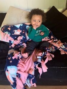 Fleece Tie- Blanket