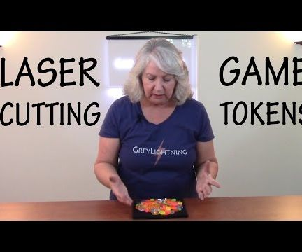 How to Laser Cut Custom Game Tokens
