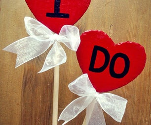 """I Do"" Wedding Prop"